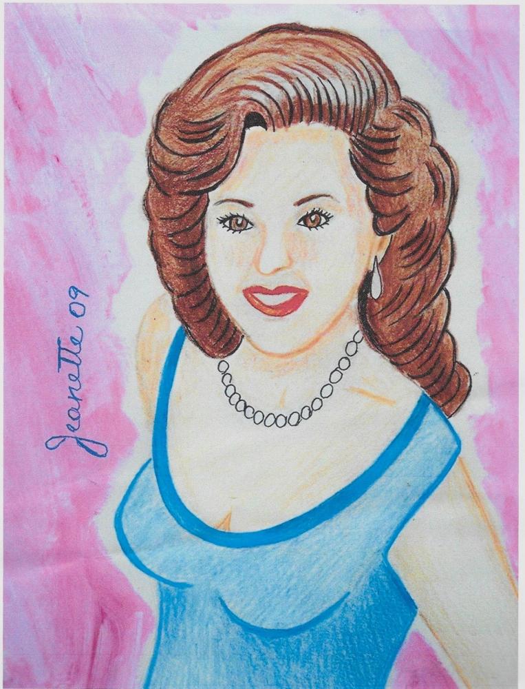Susan Hayward by Jeanette
